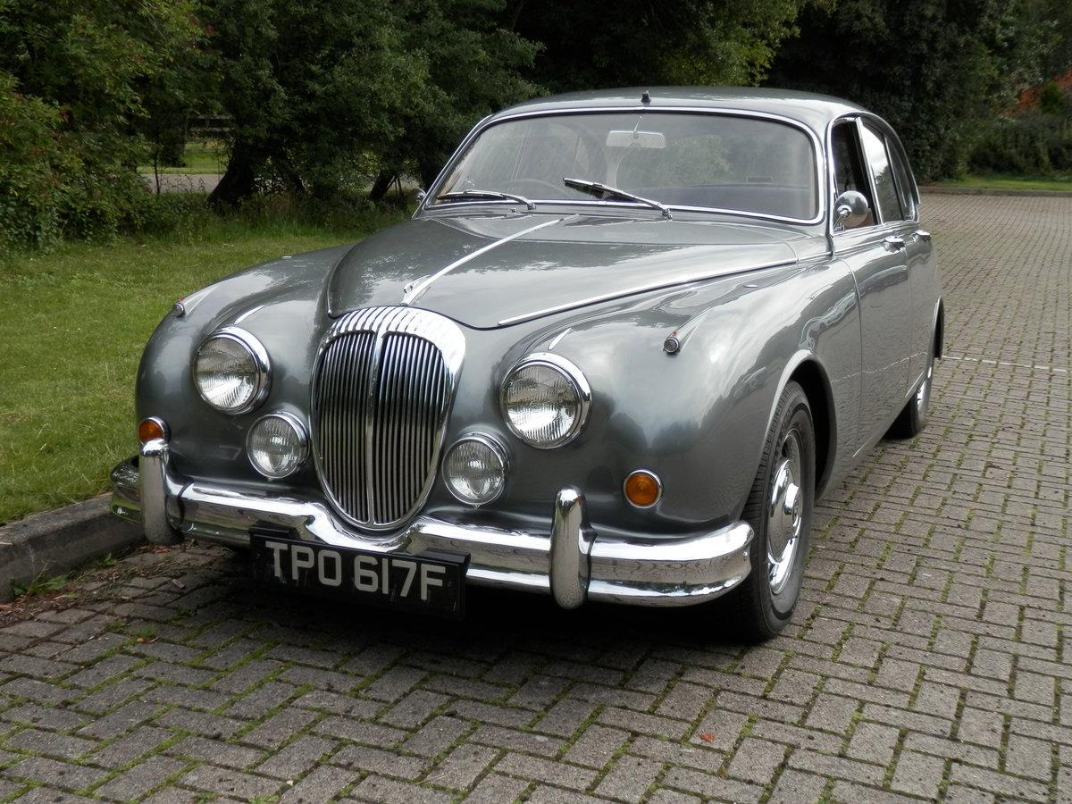 1967 Daimler V8 250 manual, overdrive (lots of history) For Sale (picture 1 of 6)
