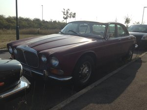 1970 Daimler Sovereign 4.2 Series 1 Webasto Roof