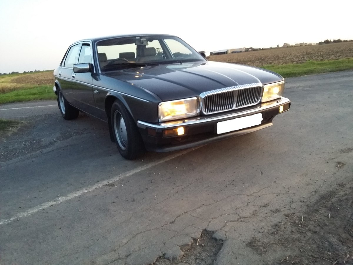 1987 Beautiful Dorchester grey Daimler xj40 SOLD (picture 4 of 6)