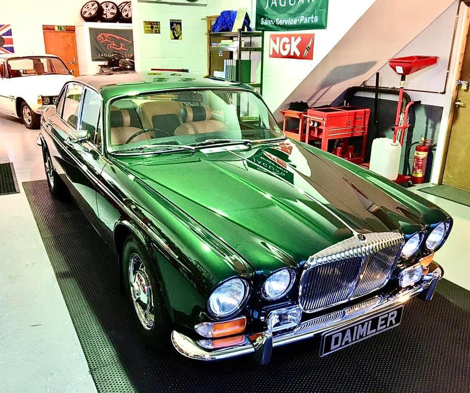 1973 Series 1 Daimler Double Six Vanden Plas - Only 14K Miles!!!l For Sale (picture 1 of 12)