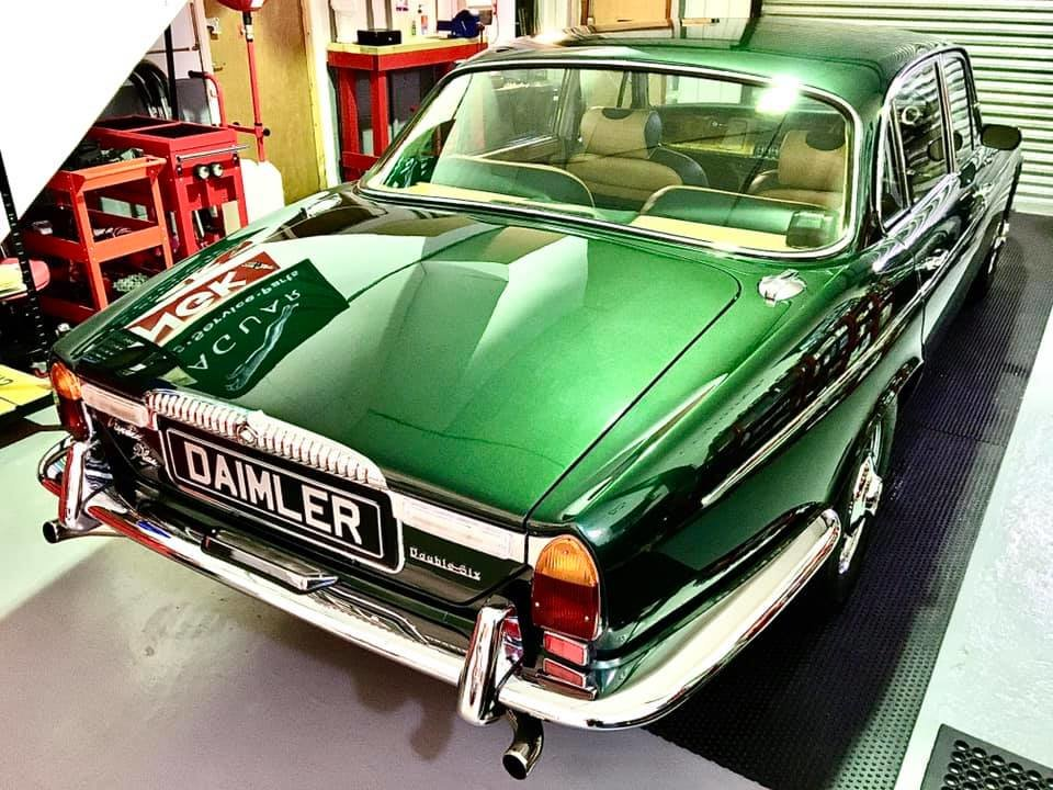1973 Series 1 Daimler Double Six Vanden Plas - Only 14K Miles!!!l For Sale (picture 2 of 12)
