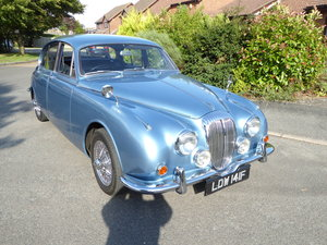 Picture of 1968 Breathtaking  blue  daimler