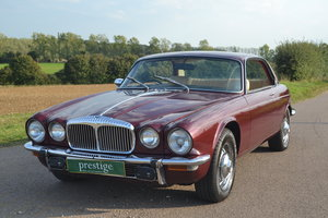 Daimler XJC 4.2 Coupe - fully recomissioned