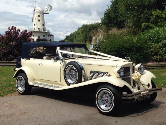 1981 Daimler DS420 Wedding Limo and Beauford For Sale (picture 1 of 4)