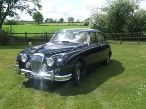 Lovely V8 Daimler - lots of work done.