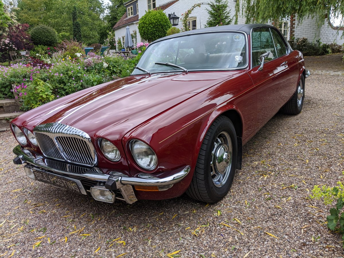 1977 DAIMLER SOVEREIGN XJ6 COUPE For Sale (picture 1 of 6)