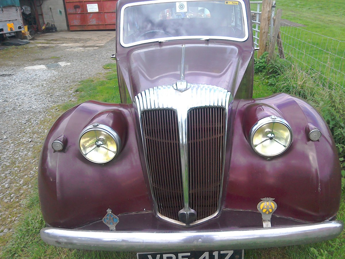 Daimler DB18 Consort 1951 SOLD (picture 1 of 6)