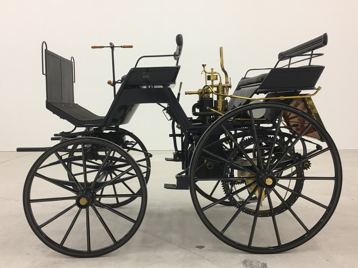 1886 Daimler Motorkutsche recreation in perfect cond. For Sale (picture 1 of 6)