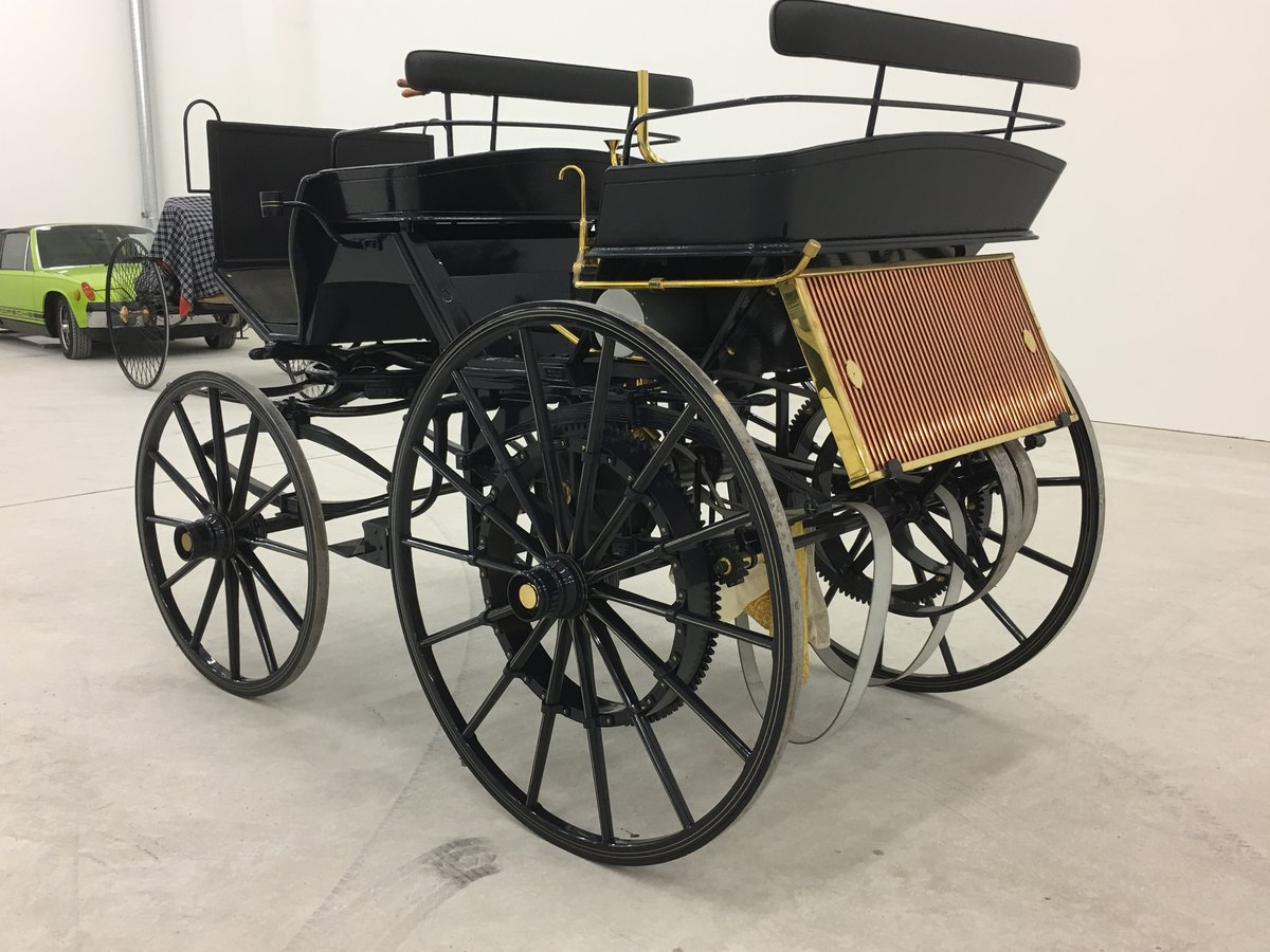 1886 Daimler Motorkutsche recreation in perfect cond. For Sale (picture 2 of 6)