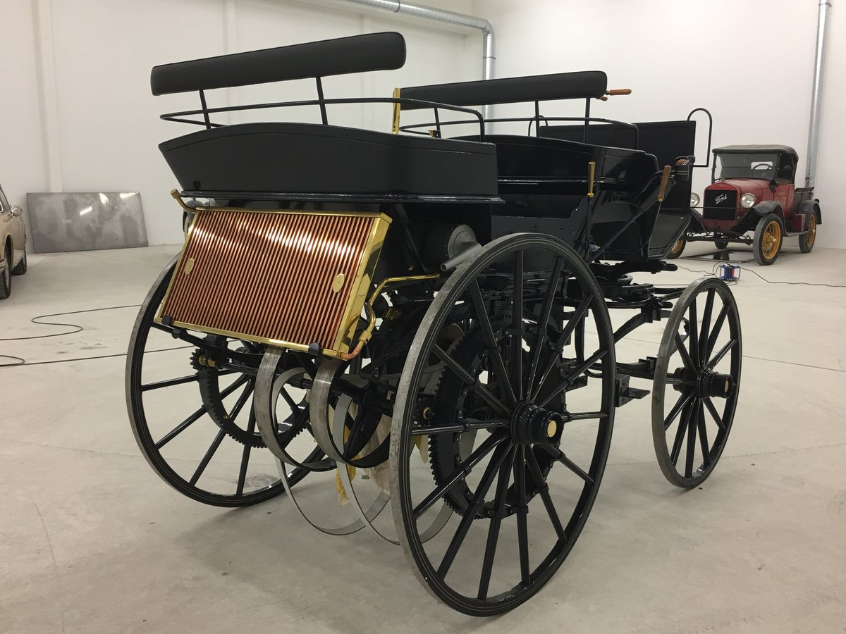 1886 Daimler Motorkutsche recreation in perfect cond. For Sale (picture 3 of 6)