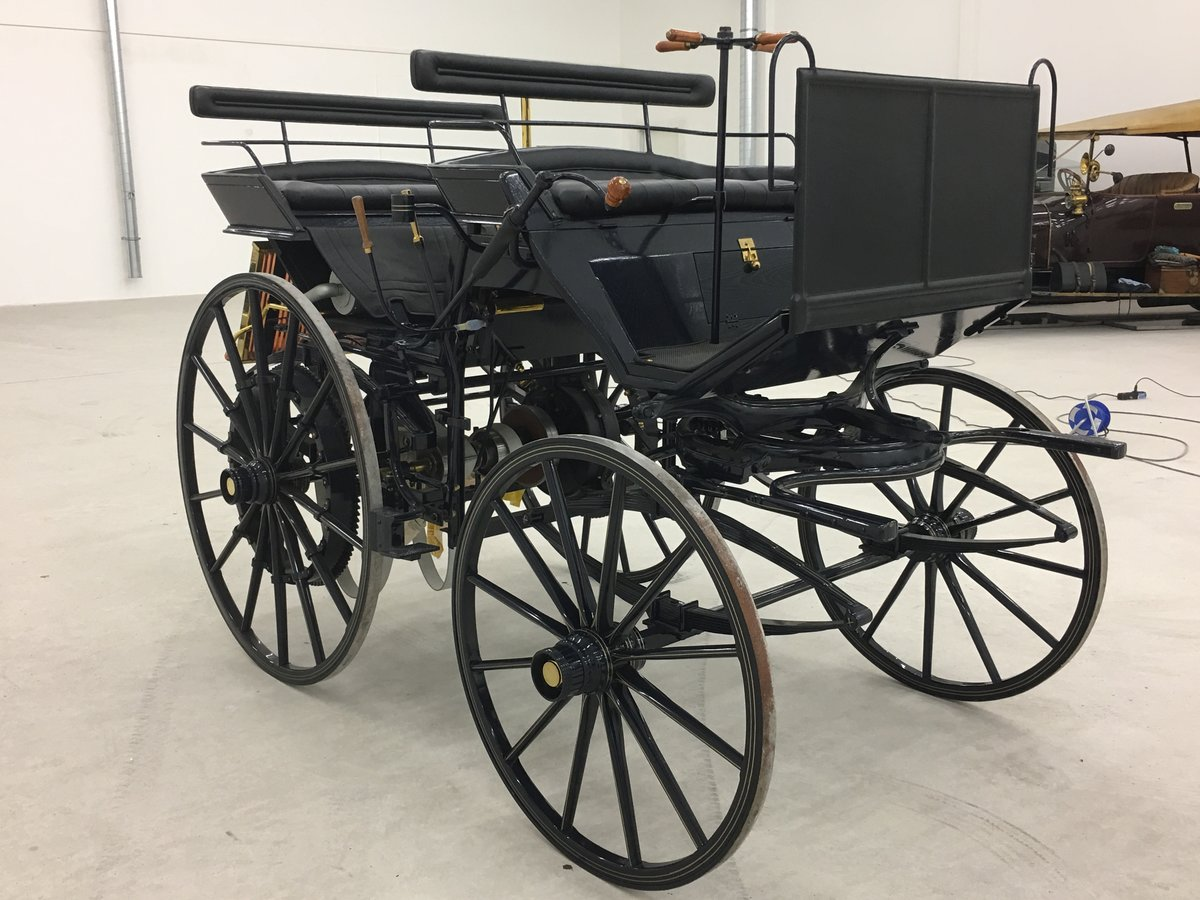 1886 Daimler Motorkutsche recreation in perfect cond. For Sale (picture 6 of 6)