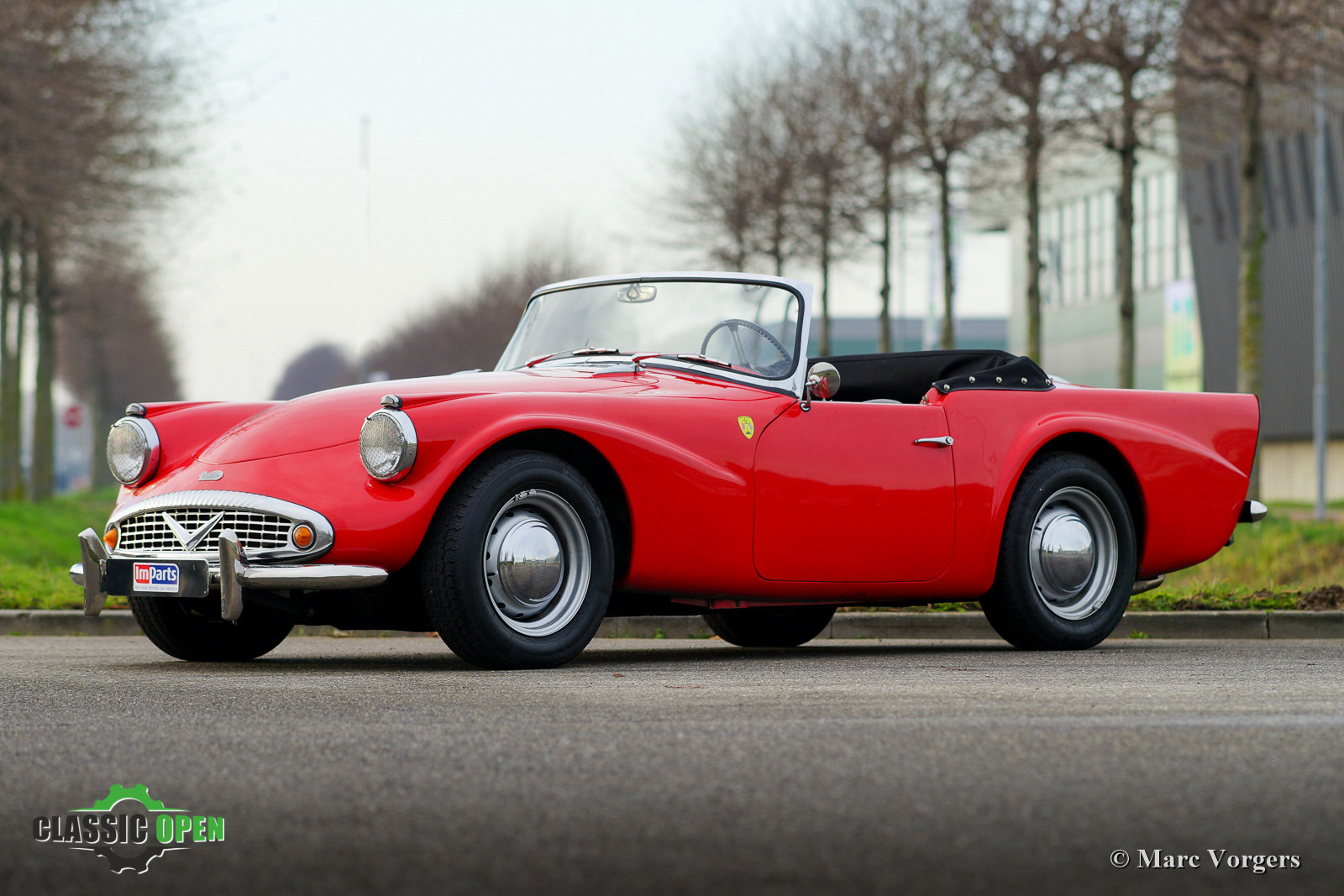 Very nice Daimler SP250 V8 from 1962 (LHD) For Sale (picture 1 of 12)
