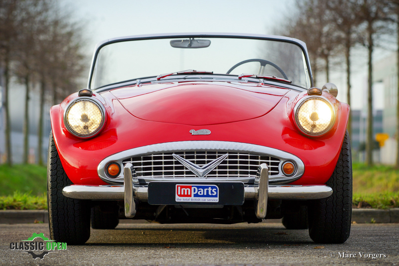 Very nice Daimler SP250 V8 from 1962 (LHD) For Sale (picture 12 of 12)