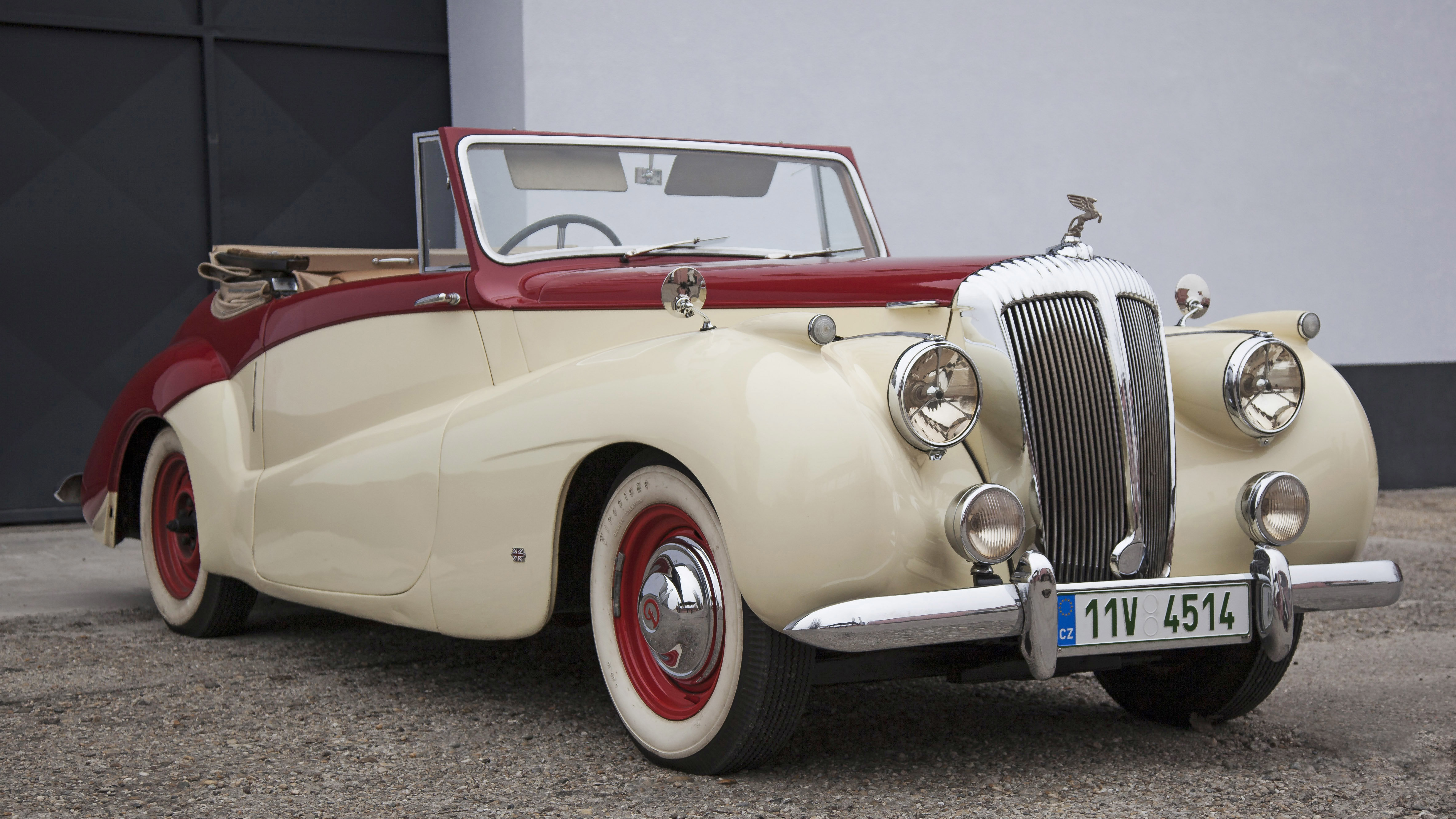 1952 Daimler DB18 Sports Special convertable For Sale (picture 1 of 12)