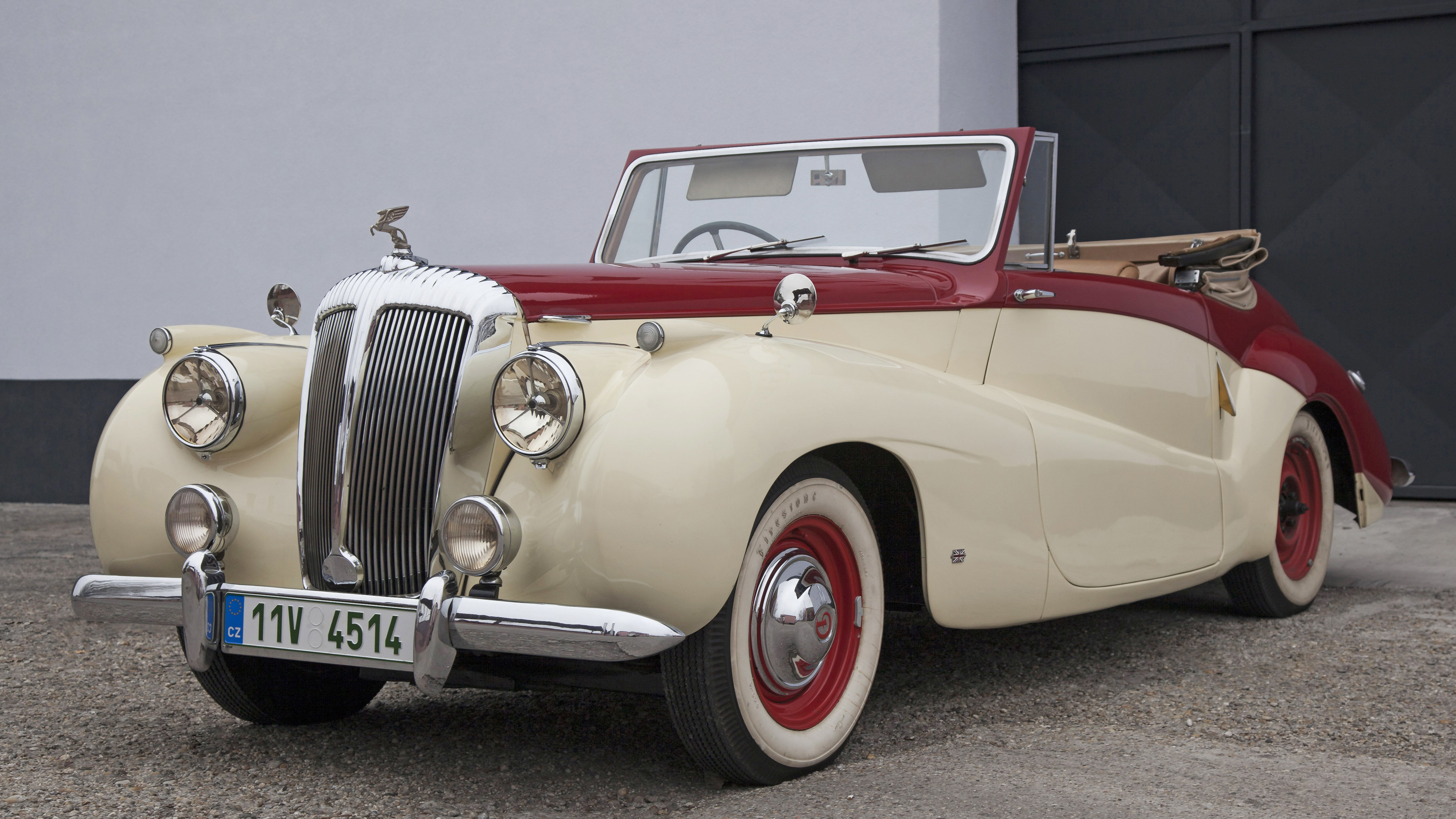 1952 Daimler DB18 Sports Special convertable For Sale (picture 2 of 12)