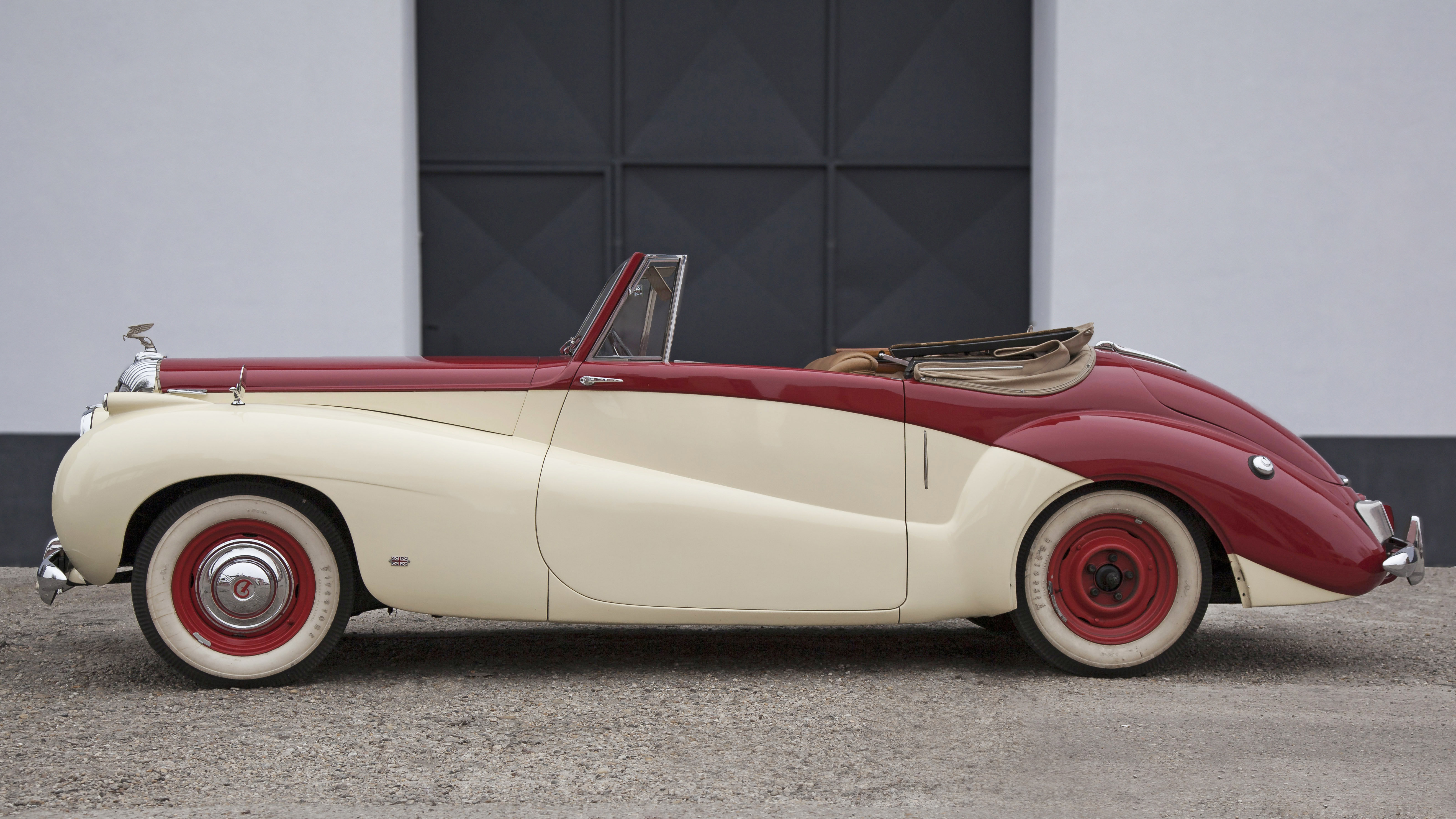 1952 Daimler DB18 Sports Special convertable For Sale (picture 9 of 12)