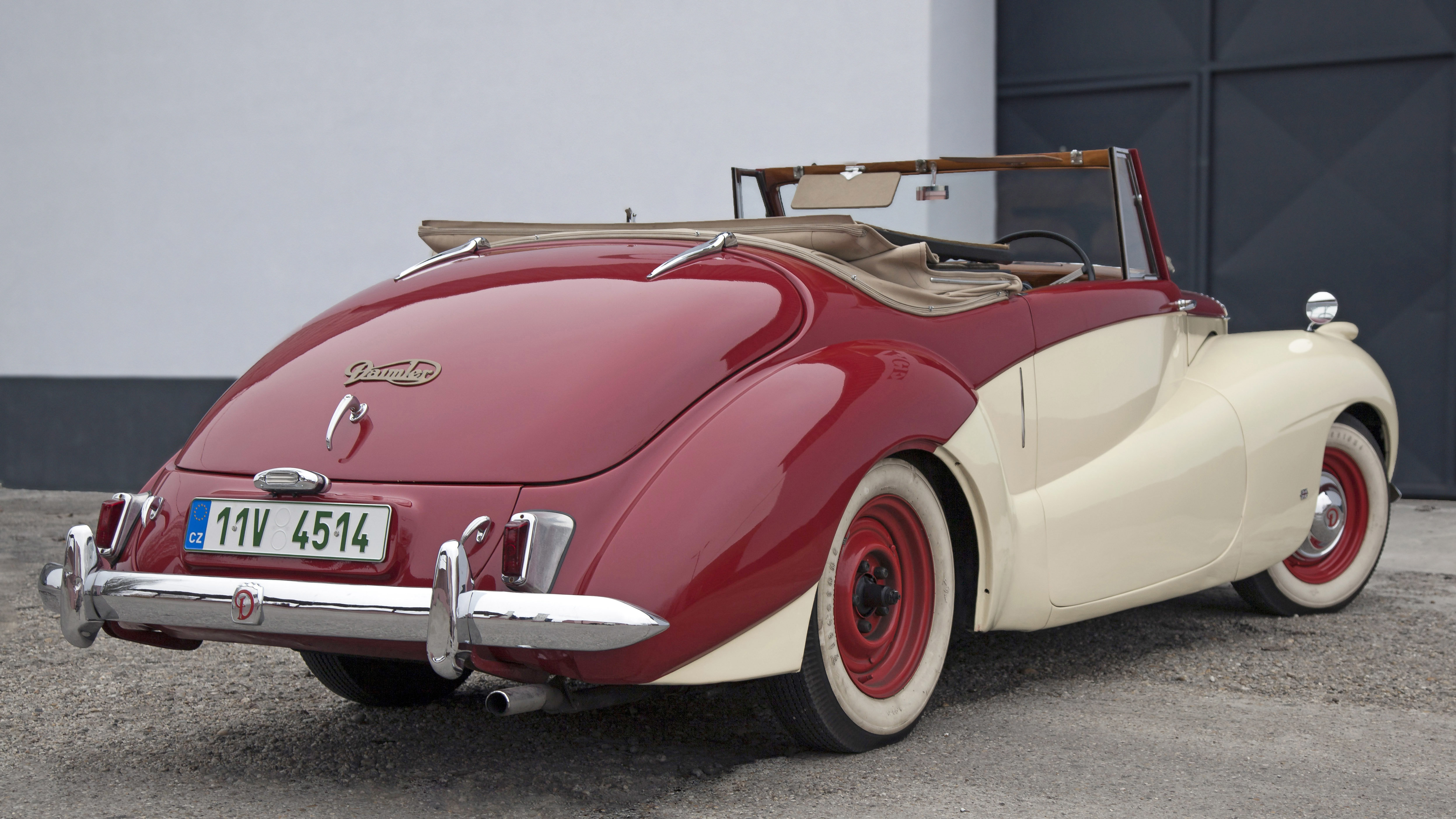 1952 Daimler DB18 Sports Special convertable For Sale (picture 11 of 12)