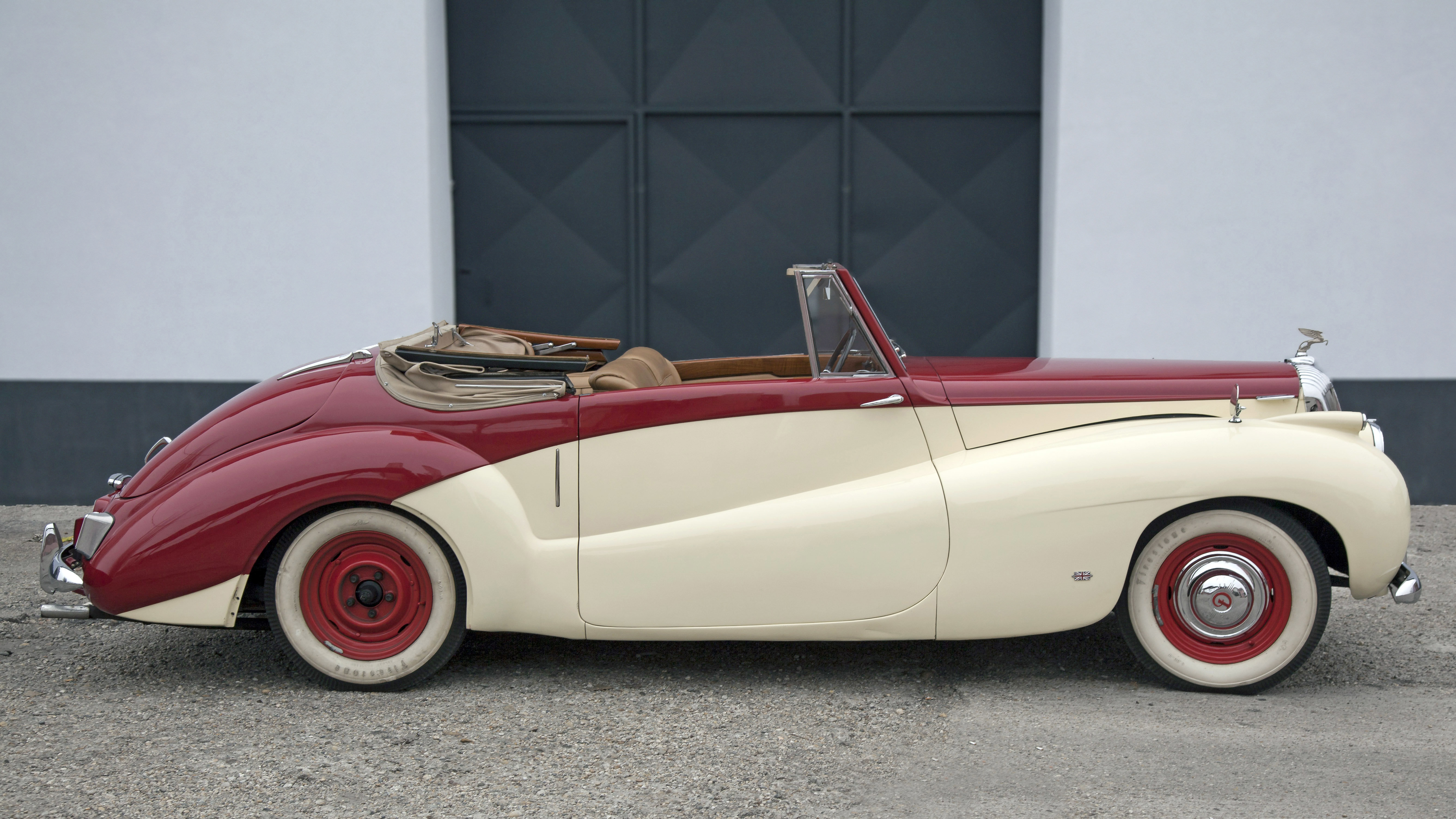 1952 Daimler DB18 Sports Special convertable For Sale (picture 12 of 12)