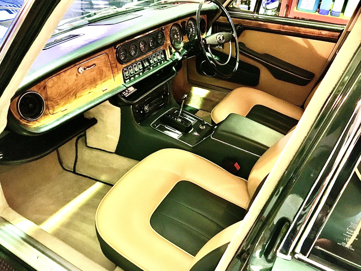 1973 Series 1 Daimler Double Six Vanden Plas - Only 14K Miles!!!l For Sale (picture 7 of 12)