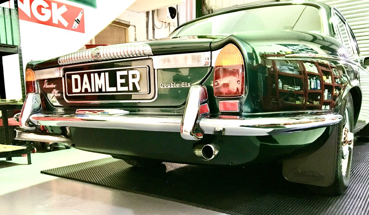 1973 Series 1 Daimler Double Six Vanden Plas - Only 14K Miles!!!l For Sale (picture 12 of 12)