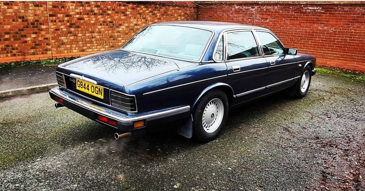 1990 *MINT*       Jaguar daimler xj40 - 4.0 - rust free For Sale (picture 2 of 5)