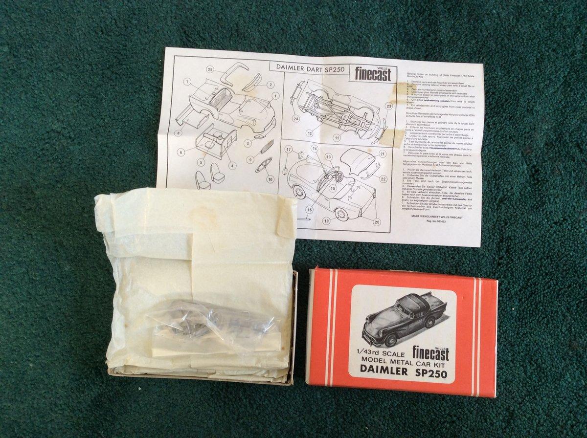 SP 250 FINECAST Model Métal Car Kit For Sale (picture 3 of 5)
