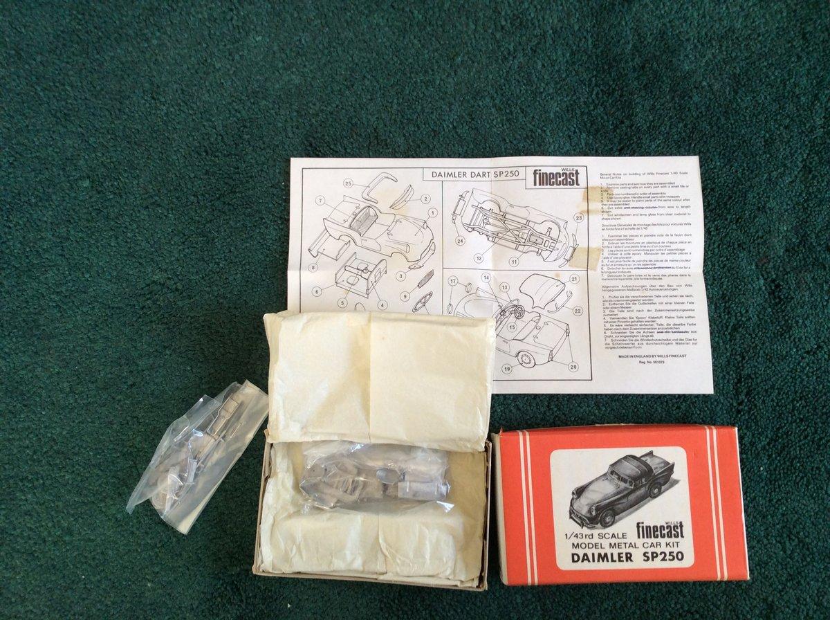 SP 250 FINECAST Model Métal Car Kit For Sale (picture 4 of 5)