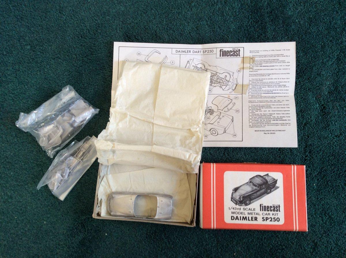 SP 250 FINECAST Model Métal Car Kit For Sale (picture 5 of 5)