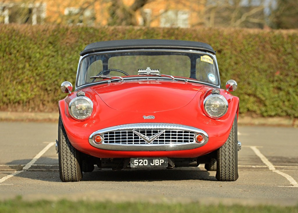 1963 Daimler SP250 B Specification For Sale by Auction (picture 11 of 11)