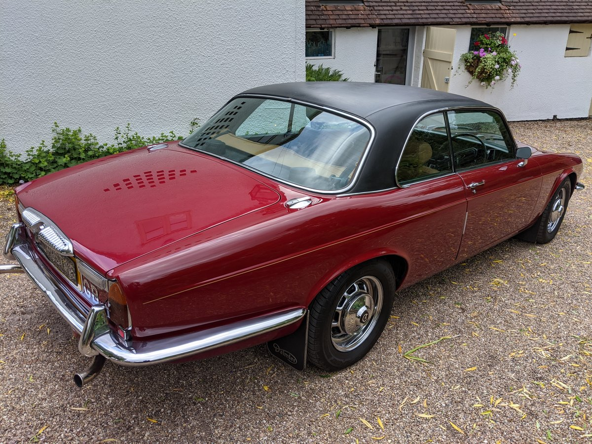 1977 DAIMLER SOVEREIGN XJ6 COUPE For Sale (picture 4 of 12)