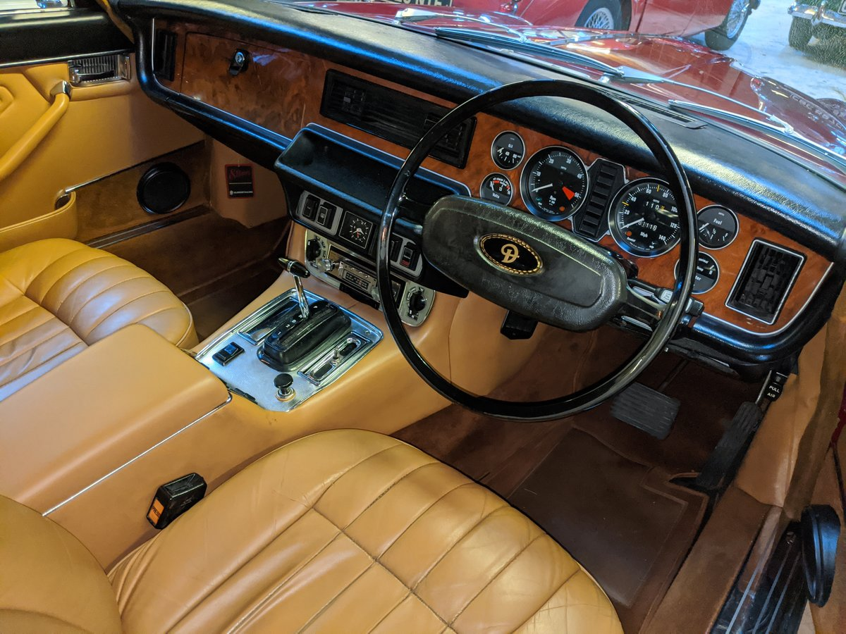 1977 DAIMLER SOVEREIGN XJ6 COUPE For Sale (picture 12 of 12)