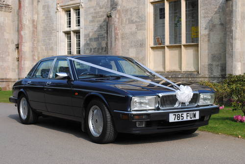 1993 Daimler Double Six wedding car For Hire (picture 1 of 6)