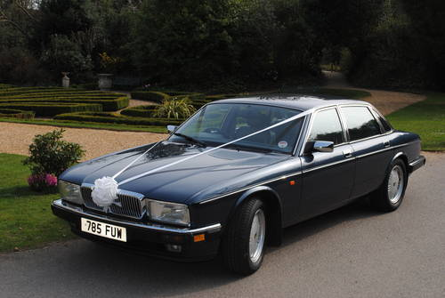 1993 Daimler Double Six wedding car For Hire (picture 2 of 6)