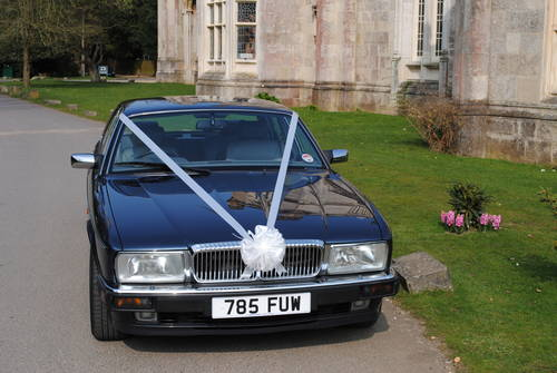 1993 Daimler Double Six wedding car For Hire (picture 3 of 6)