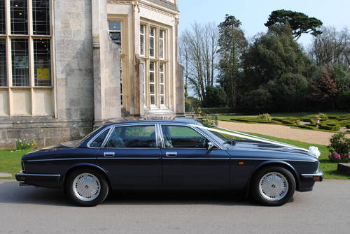 1993 Daimler Double Six wedding car For Hire (picture 4 of 6)