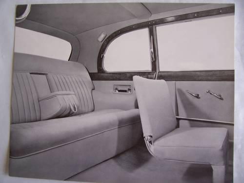 DAIMLER LIMOUSINE  PORTFOLIO 1963 For Sale (picture 6 of 6)