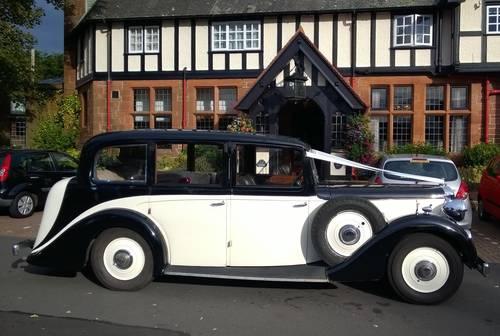 1938 Vintage Daimler EL24 Limousine SOLD (picture 1 of 6)