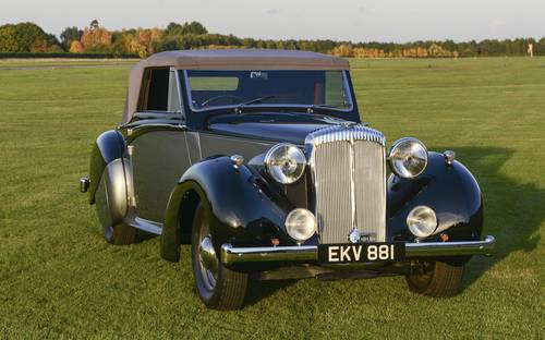 Sir Winston Churchill's 1939 – Daimler DB18 SOLD (picture 3 of 6)