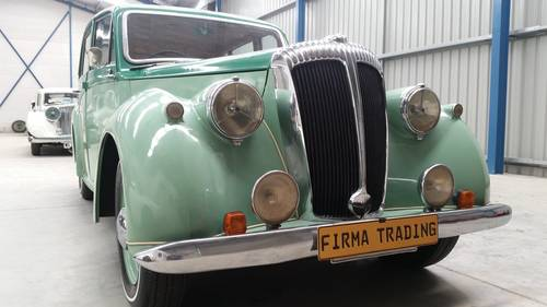 1951 Daimler Consort for sale Firma Trading SOLD (picture 1 of 6)