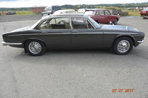 1974 Daimler Jaguar sovereign low mileage for sale SOLD (picture 2 of 6)
