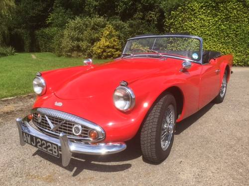 1964 Daimler SP250 (C Spec) for sale in Hampshire.... SOLD (picture 1 of 6)
