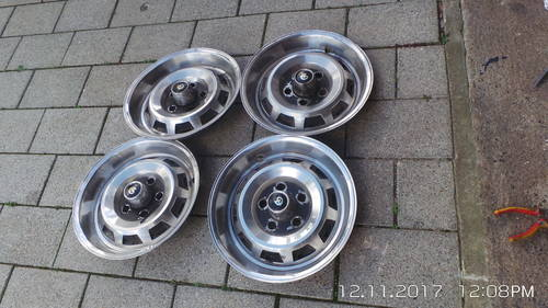 1956 Daimler XJ wheel trims For Sale (picture 1 of 4)