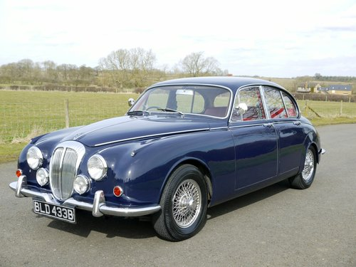 1964 Daimler V8 250 Automatic SOLD (picture 1 of 6)