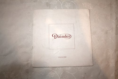 Daimler DS420 Limousine brochure For Sale (picture 1 of 3)