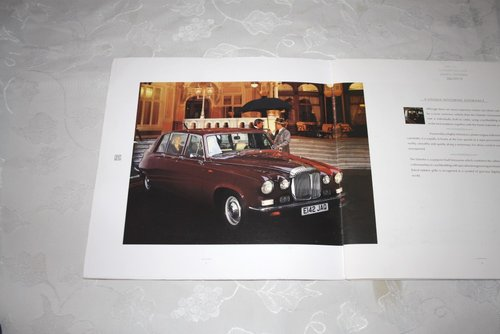 Daimler DS420 Limousine brochure For Sale (picture 2 of 3)