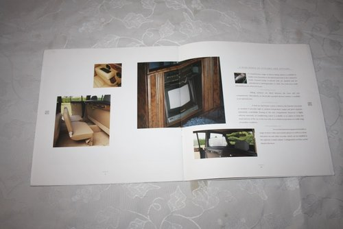 Daimler DS420 Limousine brochure For Sale (picture 3 of 3)