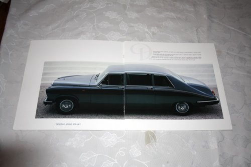 Daimler DS420 Limousine sales brochure For Sale (picture 2 of 3)