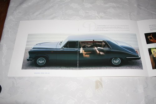 Daimler DS420 Limousine sales brochure For Sale (picture 3 of 3)
