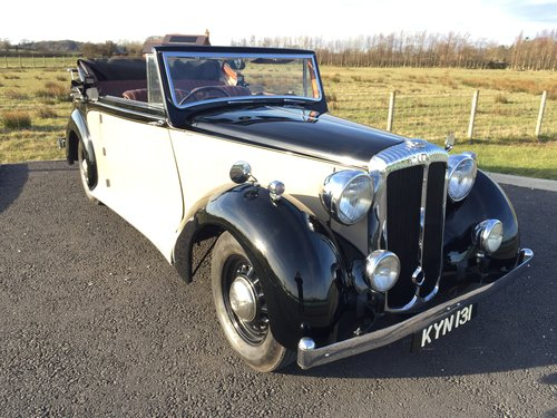 1949 Charming Daimler DB18 Barker 2.5ltr Drop Head Coupe For Sale (picture 1 of 6)