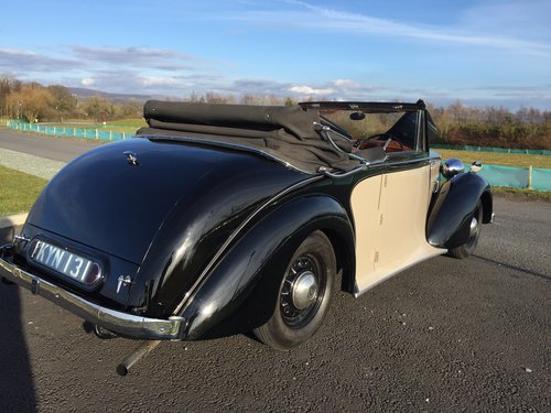 1949 Charming Daimler DB18 Barker 2.5ltr Drop Head Coupe For Sale (picture 2 of 6)